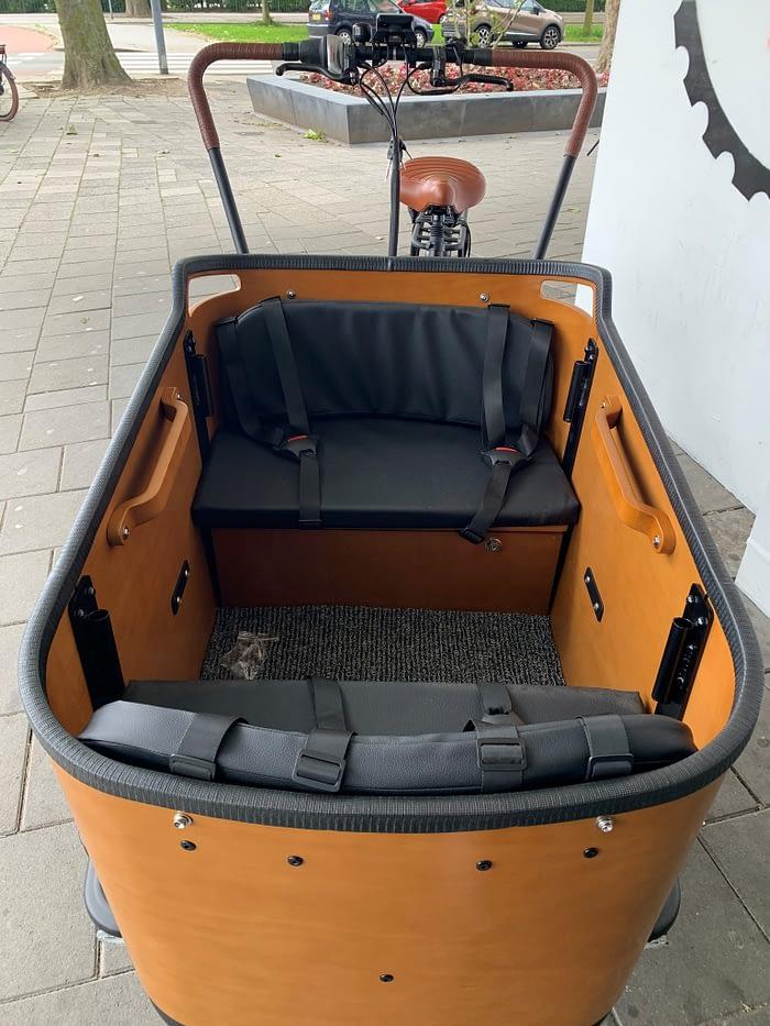 Popal elektrische bakfiets Cangoo Buckle 7V Mat Zwart 4