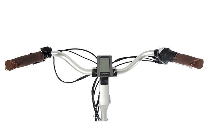 vogue_premium_elektrische fiets 28_inch_53_cm_damesfiets_7v_rollerbrakes_bruin b_