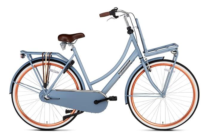 Popal Daily Dutch Basic plus 28 inch dames Transportfiets Areo Blue