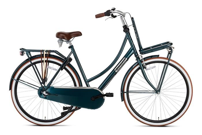 Popal Daily Dutch Basic plus 28 inch dames Transportfiets Forrest Green