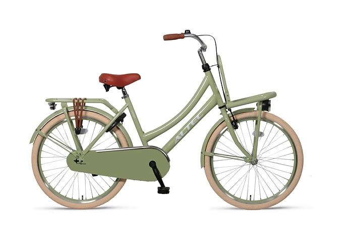 Altec-Urban meisjesfiets-26inch-Transportfiets-Green