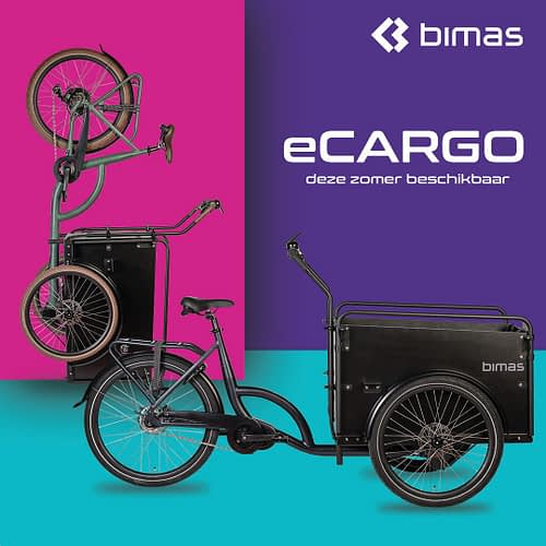 Bimas Cargo Bakfiets Elektrische