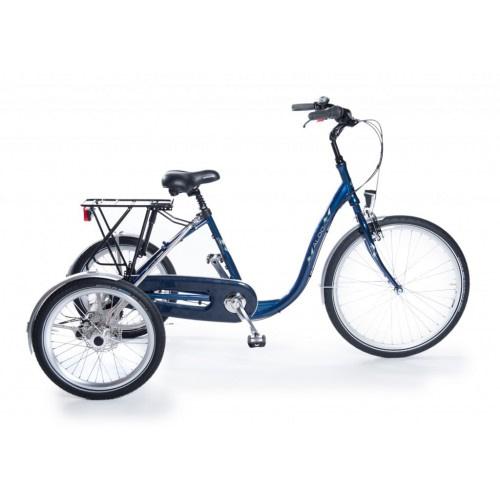 Aldo volwassen Driewieler fiets senioren blauw