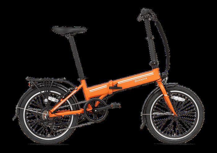 Popal E-folt Elektrische vouwfiets 20 inch handremmen Oranje