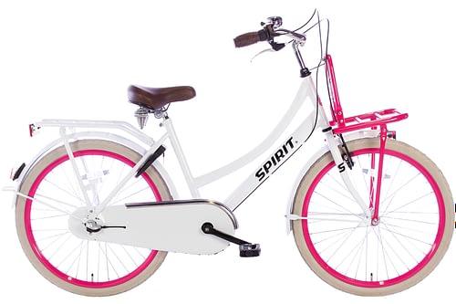 spirit-cargo-N3-wit-roze-24 inch meisjesfiets