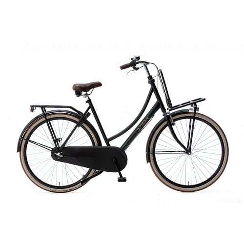 Nogan Vintage Damesfiets 28 inch Transportfiets M2815n3-Mattblack-1500x1500