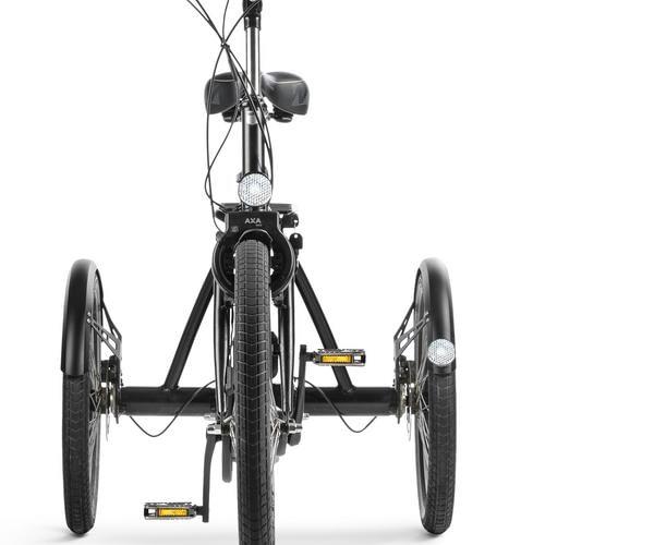 volwassen driewieler fiets Huka vasco Vooraanzicht driewieler fiets senioren