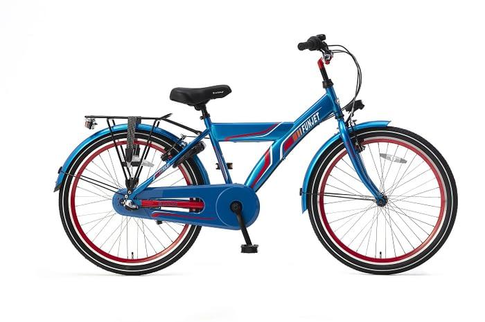 Popal FunJet N3 Jongensfiets 24 inch blauw rood