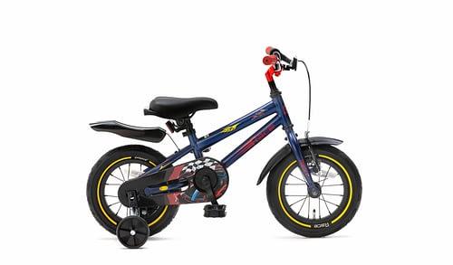 Popal Race Jongens fiets 12 inch Blauw