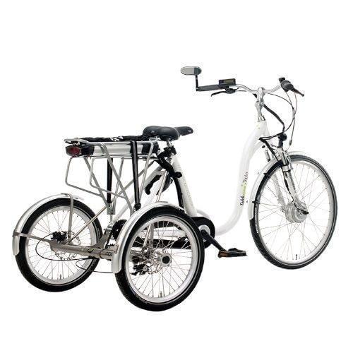 Volwassen Driewieler fiets 26 inch 25 inch Elektrische Driewieler dutchebike achter