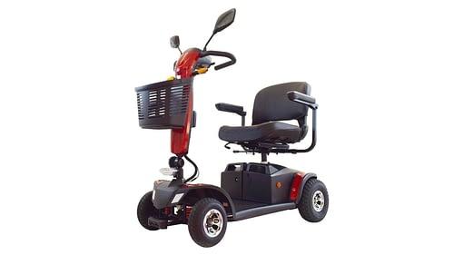 Aktiv Ibiza elektrisch scootermobiel invalide 4 wielen