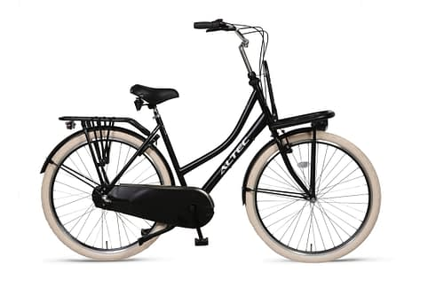Altec-Love Damesfiets 28 inch-Transportfiets-N3-Zwart-Nieuw