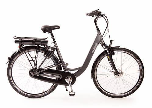 Aldo Lage Instap fiets Elektrisch inch Seven E-Bike 28 inch antraciet