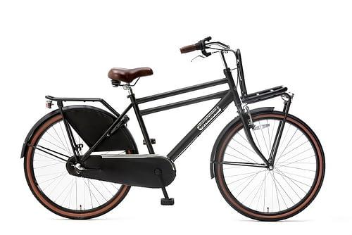 Popal Daily Dutch Basic 26 inch N3 jongensfiets 26inch transportfiets mat-zwart