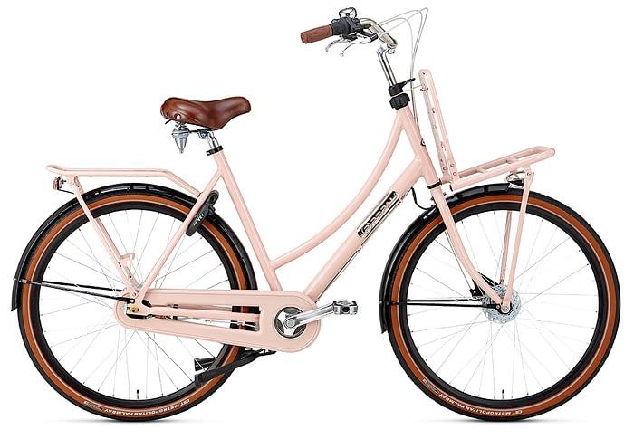 popal daily dutch prestige N7 Rollerbrake 28 inch damesfiets Roze