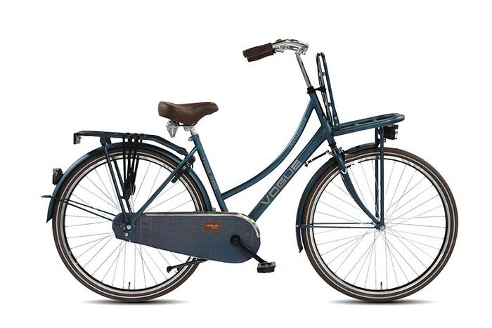 Vogue transporter transportfiets 28 inch jeans Blauw