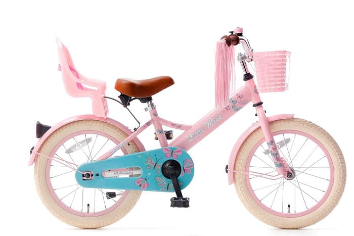 little miss 16 inch meisjesfiets roze