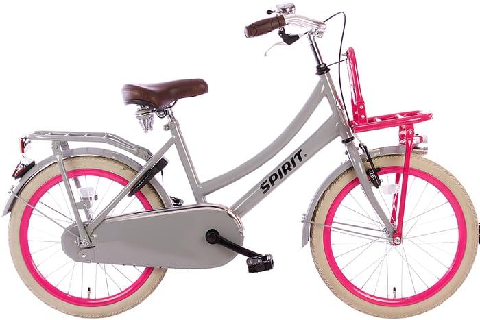 spirit-cargo-grijs-roze-20 inch meisjesfiets