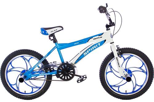 spirit-bmx fiets cheetah-blauw