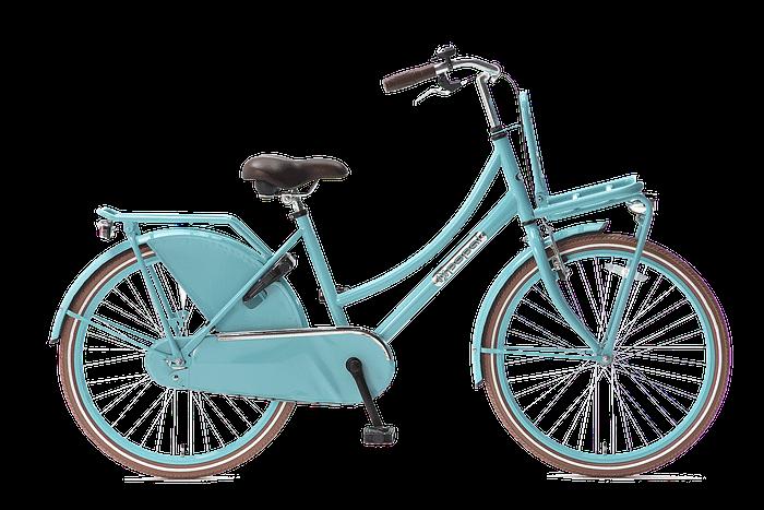 Popal Daily Dutch Basic Turquoise Transportfiets 24 inch meisjesfiets