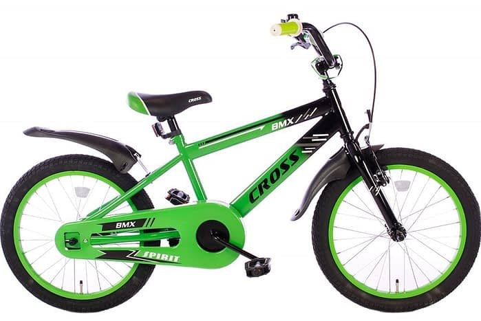 spirit-bmx-cross-groen-18 inch