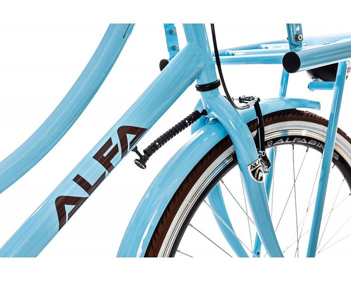 Alfa Innovador Transporter Meisjesfiets 26 inch licht blauw 4