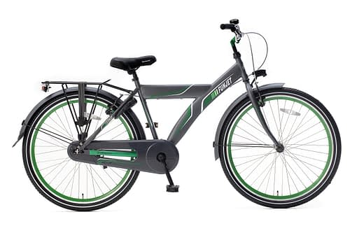 Popal FunJet X Jongensfiets 24 inch grijs groen