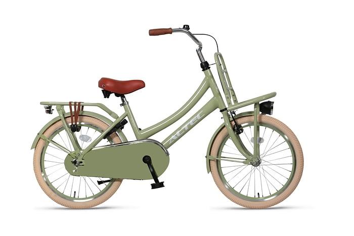 Altec-Urban-meisjesfiets-22inch-Transportfiets-Green