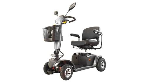 Scootmobiel Elektrisch Aktiv Ibiza 4 wielen zilver