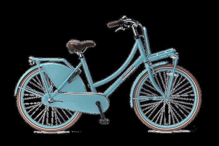 Popal daily dutch 26 inch N3 Meisjesfiets Transportfiets 26 inch met versnellingen Turquoise