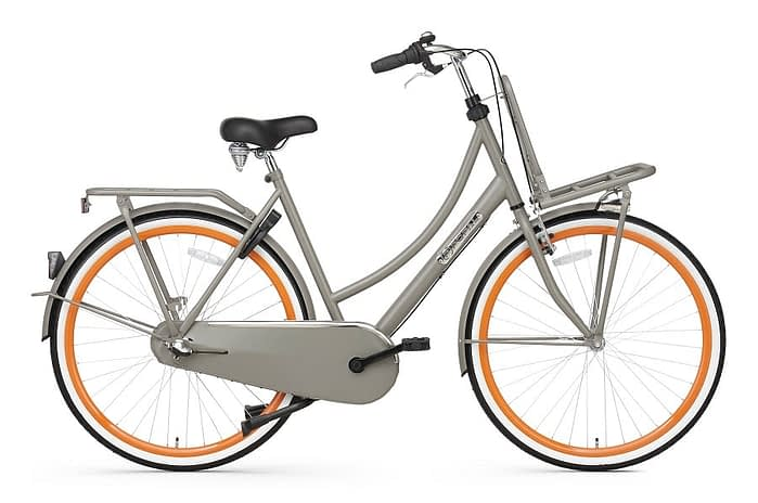 Popal Daily Dutch Basic plus 28 inch grijs oranje