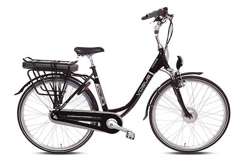 VOGUE PREMIUM Elektrische damesfiets 28 inch Black 7SP Lady 51 cm zwart (102005)