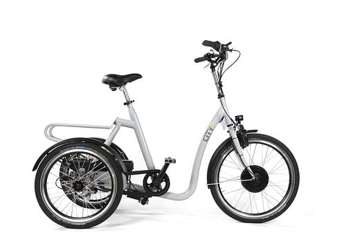 Huka-e-City-Elektrische driewieler fiets voor senioren volwassen driewiel fiets