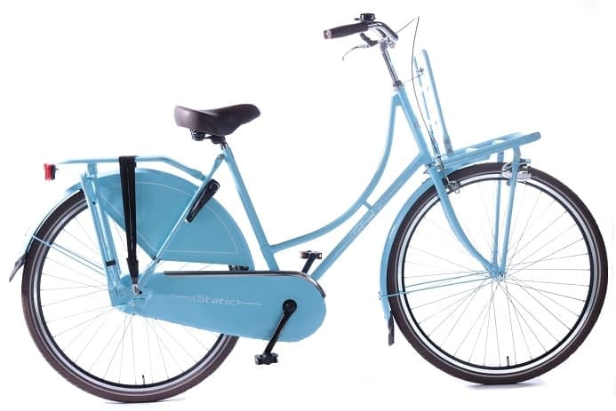 Static omafiets 26 inch Blauw Meisjes transportfiets 26 inch