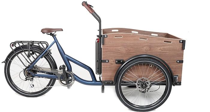 Cortoba-Urban-Deluxe-elektrische-bakfiets-mat-blauw-2