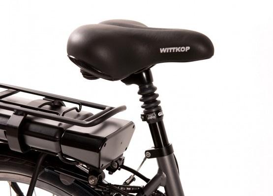 Aldo Lage Instap fiets Elektrisch inch Seven E-Bike 28 inch antraciet Accu