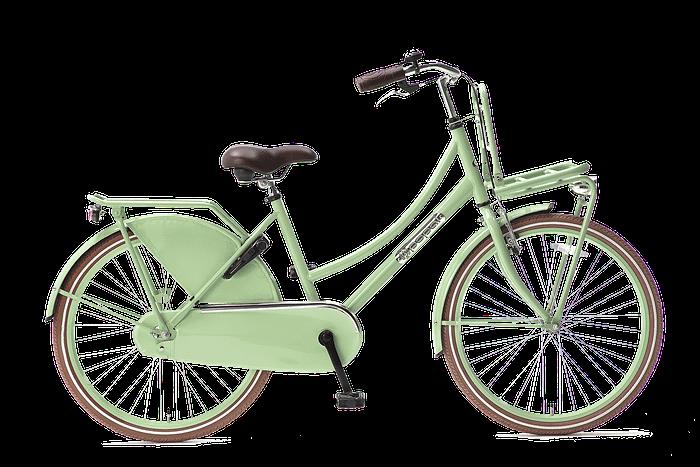 Popal Daily Dutch Basic Pistache Groen Transportfiets 24 inch meisjesfiets
