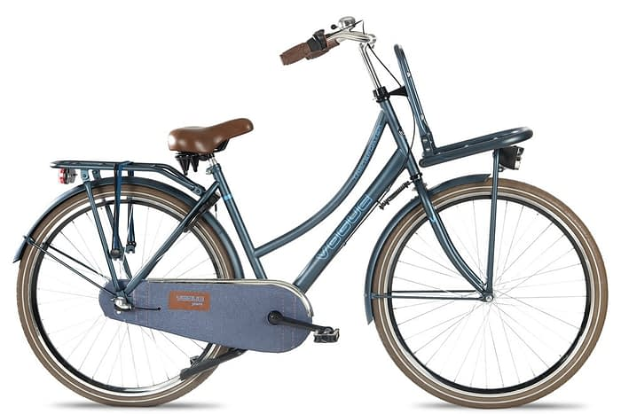 Vogue transport dames transportfiets jeans blauw