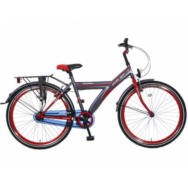 popal-fun-jet-jongens-fiets-2608-grijs-rood