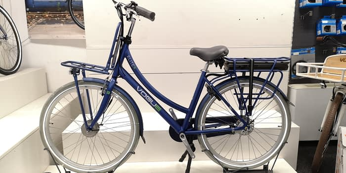 Vogue Elite Elektrische transportfiets N3 2020 Jeans blauw mat