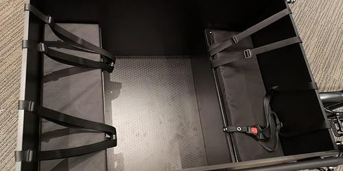 Bimas bakfiets elektrische bak binnenkant