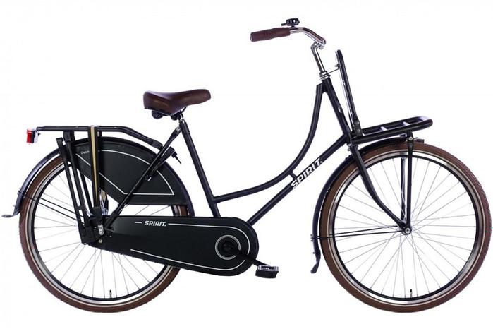 Spirit Omafiets 26 inch (model 2016) Mat zwart