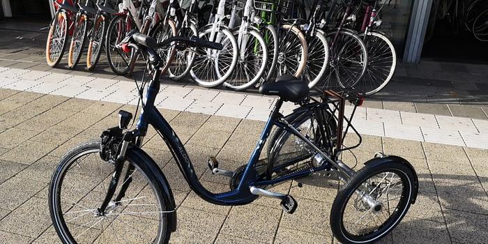 Volwassenen driewieler fiets Aldo lage instap driewieler fiets