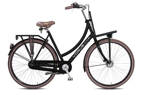 Vogue Elite 3 Speed Damesfiets + Rollerbrake 28 inch Mat Bruin