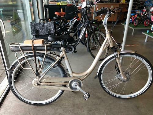vogue-premium-e-bike-dames-champagne winkel