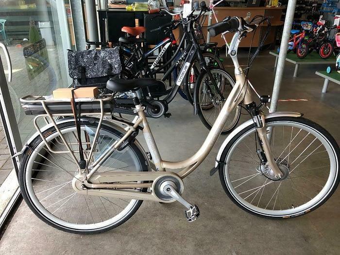 vogue-premium-e-bike-dames-champagne winkel