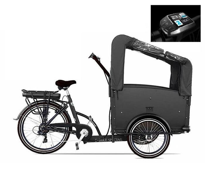 troy-bakfiets-Elektrisch-Swalbe-upgrade-7speed-zwart-driewieler-481wh 2