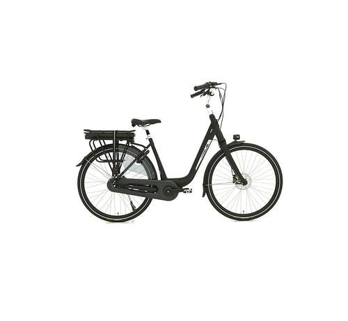 Vogue Mio elektrische fiets 8V Zwart Elektrische Fiets Middenmotor Hydraulische schijfremmen