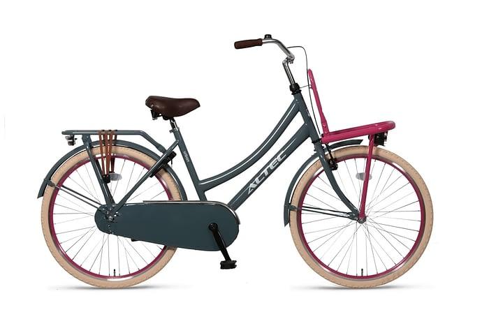 Altec-Urban meisjesfiets-26inch-Transportfiets-GrayPink