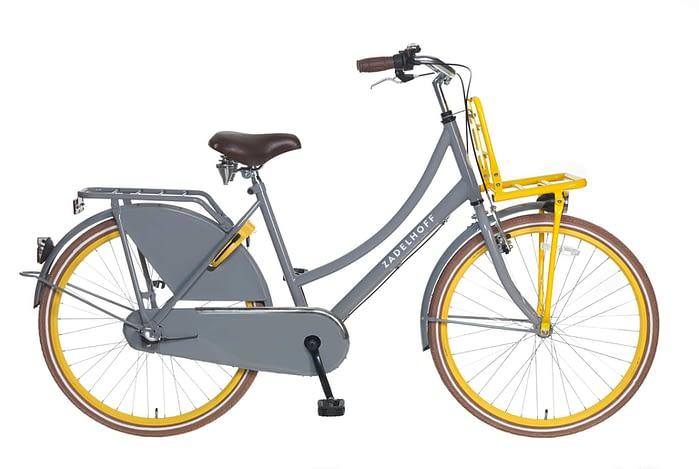 Popal Zadelhoff Season+ 26 inch Grijs geel